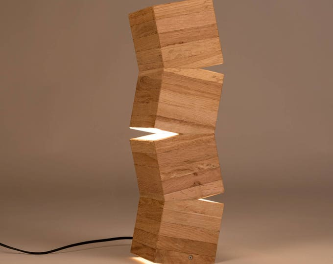 Lighttall Wooden Design Floor Lamp