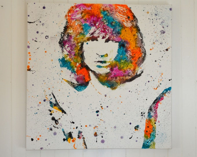 Jim Morrison, original painting