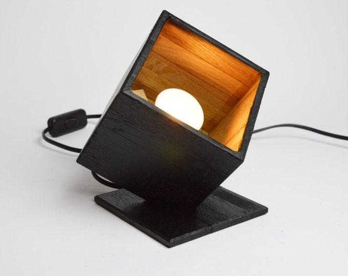 Little wooden design spot 'Black Dodrogo'