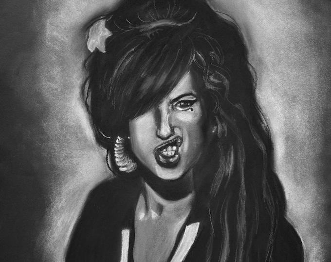 Amy Winehouse's portrait