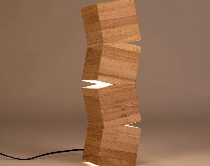 Lighttall Wooden Design Floor Lamp