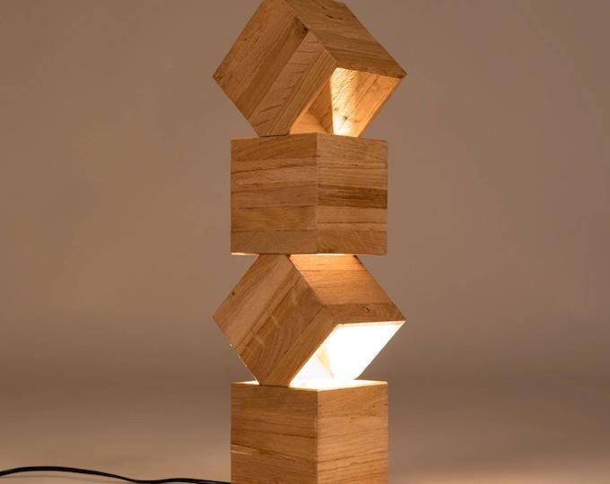 Danquen Handmade Wooden Design Floor Lamp
