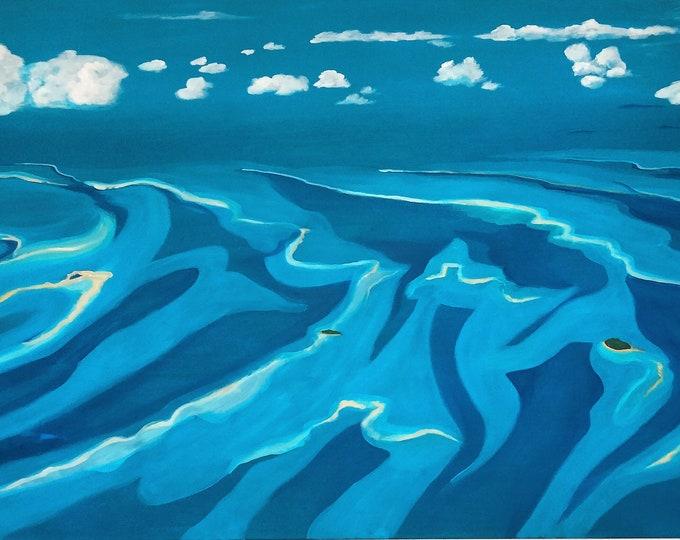 Between sky and sea