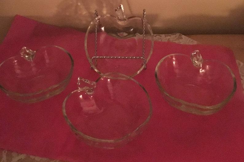 Hazel Atlas Apple Shaped Bowls