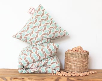 """Cherry Stone Pillow """"Bloomsbury"""" - Reusable / Microwaveable / Heat Pack / Ice Pack / Heating Pad / Wheat bag  / Hot water bottle / Warmer"""