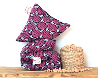 """Cherry Stone Pillow """"Biology"""" - Reusable / Microwaveable / Heat Pack / Ice Pack / Heating Pad / Wheat bag  / Hot water bottle / Warmer"""