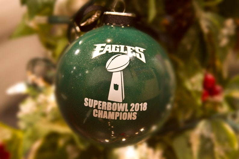 Philadelphia Eagles 2018 Superbowl Ornament Philly Philly  c7227ebb1