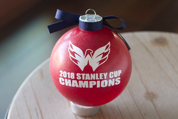 50 - 2018 Washington Capitals Stanley Cup Ornament NHL Hockey Etsy