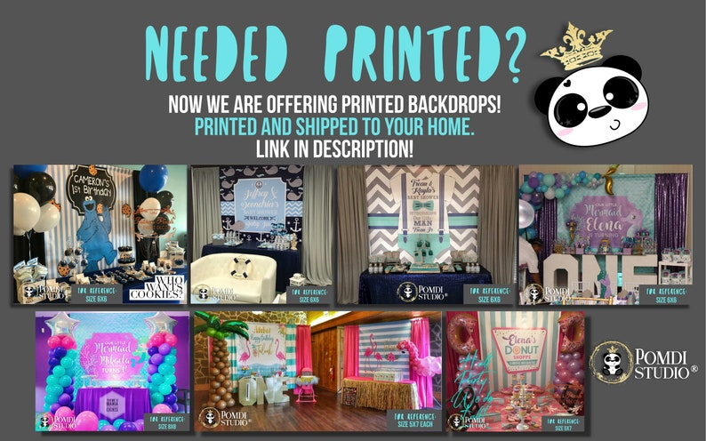 Winter Birthday Backdrop| You Print Your Files Winter Wonderland| Any Wording Any Age| DIGITAL Printable Backdrop Winter ONEderland|