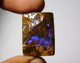 Natural Boulder Opal Gemstone Gorgeous Boulder Opal Cabochon Gemstone Excellent Quality Boulder Opal Loose  stone 224Cts.