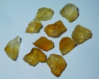 8 Pcs Natural Citrine Rough Lot  Gemstone,Citrine Rough Cabochons,Citrine Rough Loose stone,Citrine Rough semi precious 274Cts