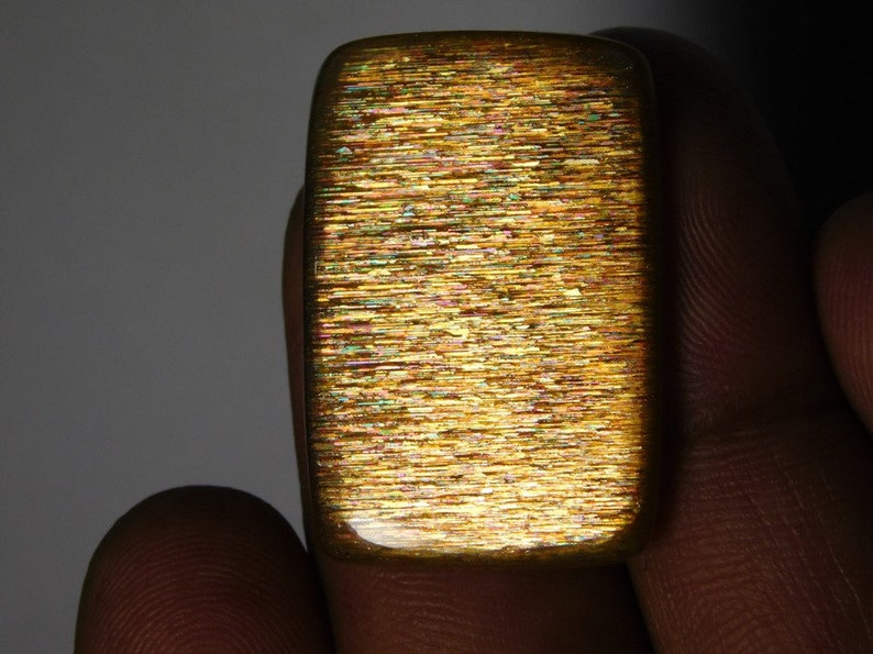mm 32X21 Beautiful Sunstone Gemstone Top Quality handmade Cabochons 100/%Natural Beautiful Loose stone 28Cts.