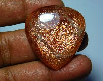 Beautiful Sunstone Gemstone Top Quality handmade Cabochons 100%Natural Beautiful Loose stone 82Cts.(38X36)mm