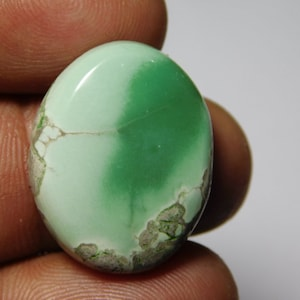 AAA Quality Variscite Gemstone,Variscite Cabochons,Variscite Loose stone,Variscite semi precious  42Cts. 39X28 MM
