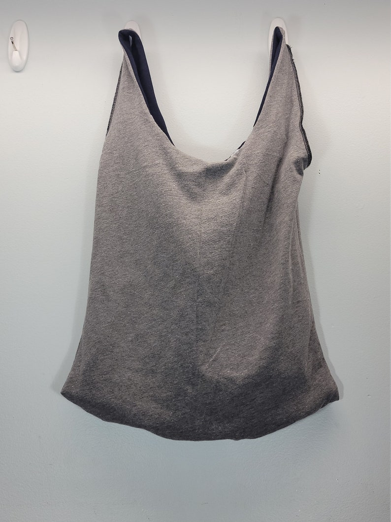 Upcycled Reversible T-Shirt BagEnglandUSAMedium