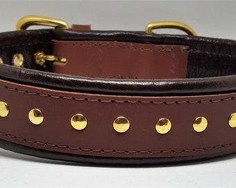 Plain leather