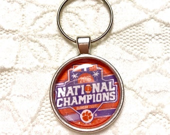 CLEMSON- National Championship Key Chain