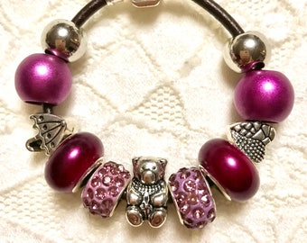Child- Very Small European Style Charm Bracelets