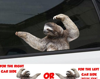 """Sloth Life TP 660 Sticker 8/"""" Decal animals gifts stuffed tshirt heartbeat"""