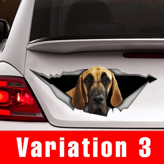 Great Dane Mom Dog Pet Funny Decal Sticker Car Vinyl
