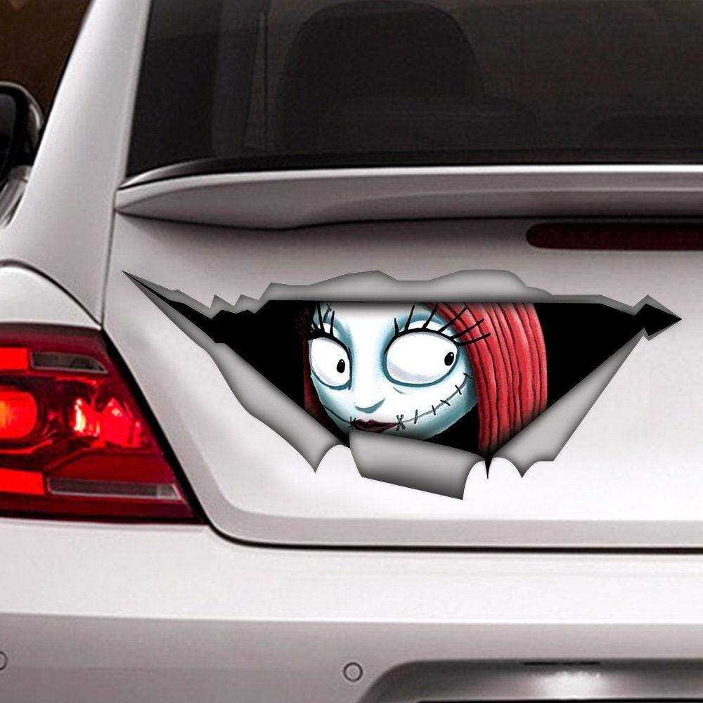 Sally sticker Nightmare before Christmas sticker car | Etsy