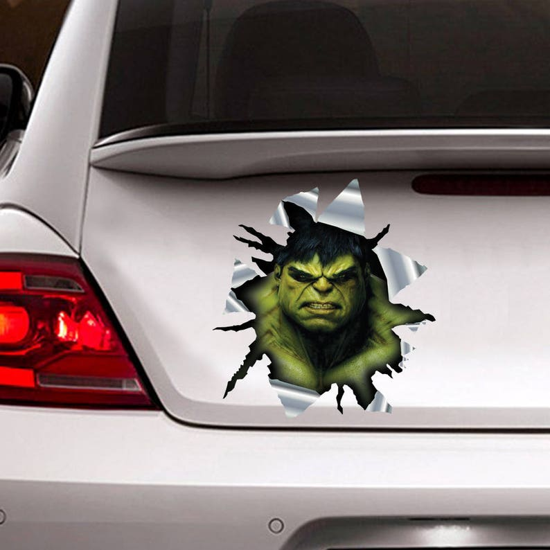 Hulk Sticker For Car Hulk Decal Car Sticker 3d Sticker