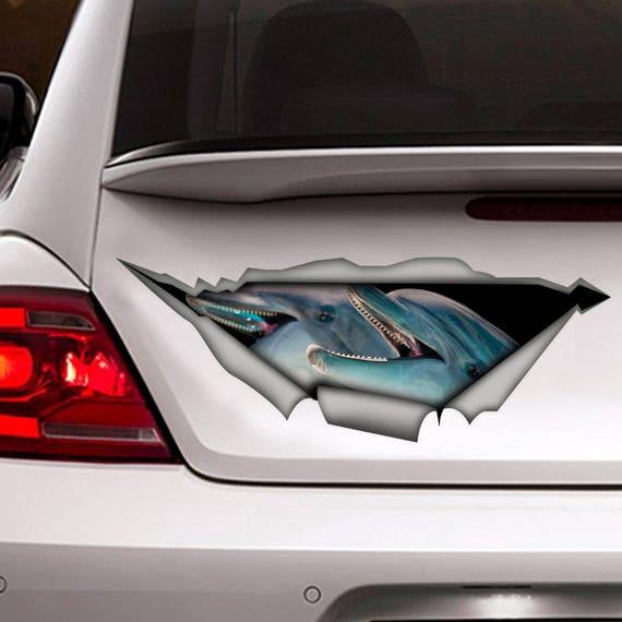 Dolphin Sticker Dolphin Sticker Car Sticker Car Sticker Dolphin Auto 142//4
