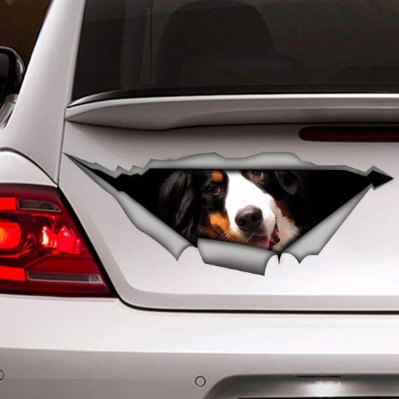 Bernese Mountain Dog Mom Sticker Vinyl Auto Window berner