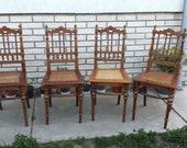 Thonet, Style Art deco Thonet Mundus 1909 39 s Bentwood Chairs, thonet bentwood, Bentwood Bistro Chairs Thonet, Dining Chair