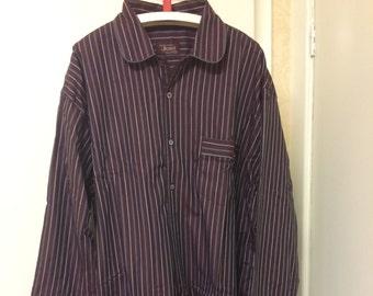 Burgundy Dunstanburgh Fabric Standard Nightshirt SALE