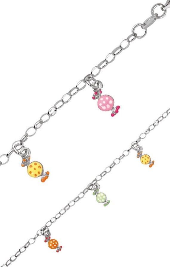 birthday. Bracelet charms for little girl