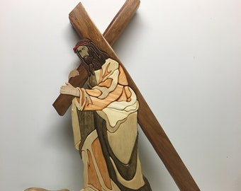 The Cross Carried by Jesus the Christ