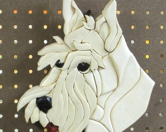Scottish terrier dog wall art