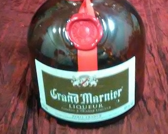 Grand Marnier Liquor Bottle Empty 1.0 Liter