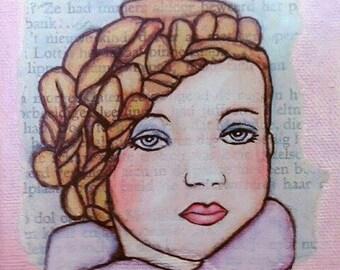 Little girl cloth, Sunnymixedmedia