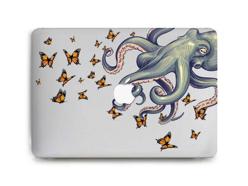 MacBook Pro 15 Case MacBook Air 2020 Case Mac 13 inch Case Butterflies Apple Mac Pro 16 Case MacBook Hard Case MacBook Air 11 Case Octopus