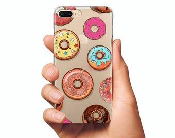 Donuts case iphone 6 donuts case iphone 6 plus case iphone 6s case iphone 6s plus case donuts cover donuts case iphone se case iphone 5 case