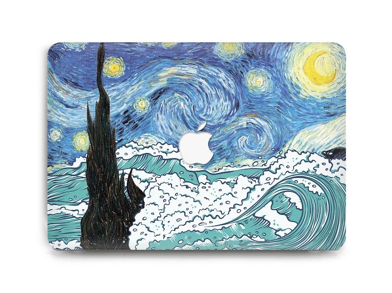 new arrival edcc1 497f4 Starry Night Case MacBook Pro Case MacBook Pro 15 Case Blue Waves MacBook  Pro 13 Case Van Gogh MacBook Air 13 Case MacBook Pro Retina Case