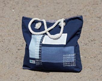 Summer bag, Cotton Bag, travel bag, diaper bag, beach bag