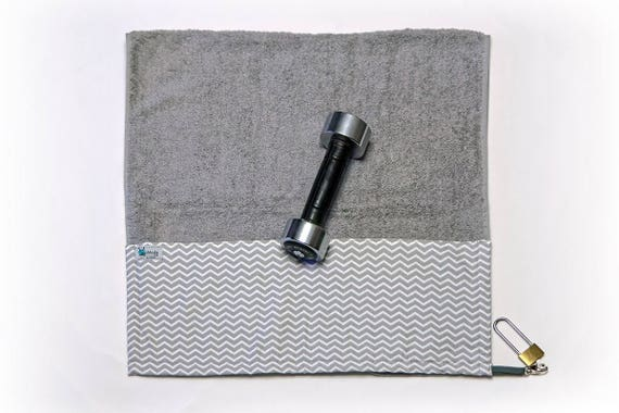 Gift For Him Her Valentines Day Gym Towel
