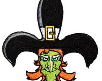 Fleur de lis Witch