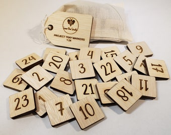 NEW! Project Tray Place Markers Set 1