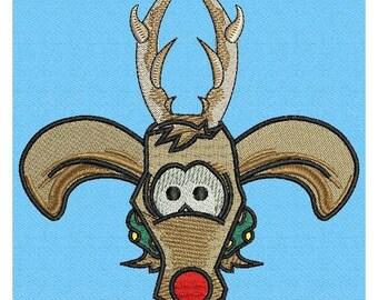 Reindeer Fleur de Lis