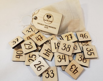 NEW! Project Tray Set 2 Place Markers