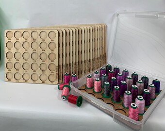 Isacord Embroidery Thread Drawer Inserts
