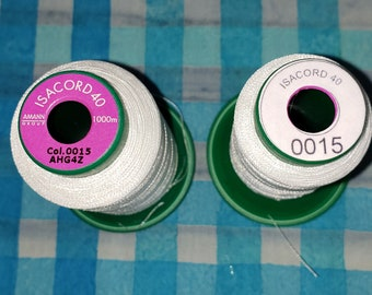 Spool Stickers for Isacord Embroidery Thread