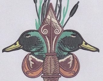 Duck Fleur de lis