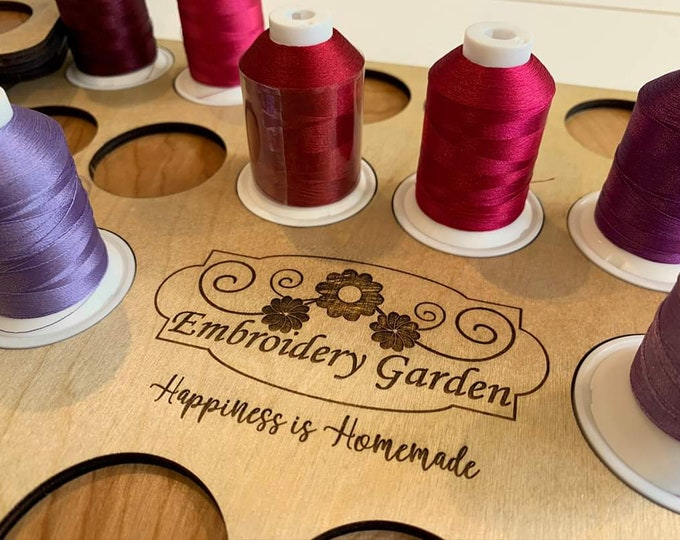 Featured listing image: Embroidery Garden Exclusive thread drawer inserts