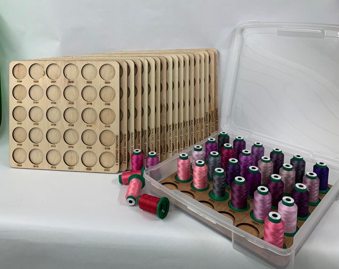 Featured listing image: Isacord Embroidery Thread Drawer Inserts