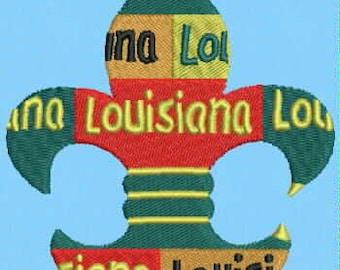 Louisiana Fleur de Lis